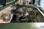Engine bay cleanup and paint