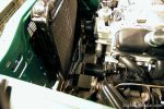 Engine bay mockups with shorty headers installation