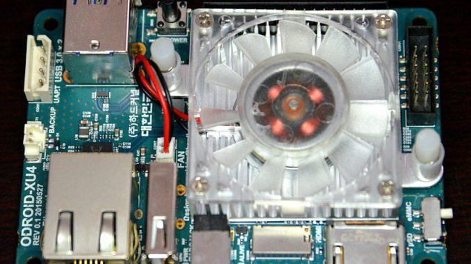 Odroid XU4 mini computer