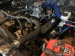 Dodge Dart 360ci engine installed