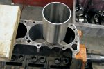 Cylinder repair sleeve and 440 engine block