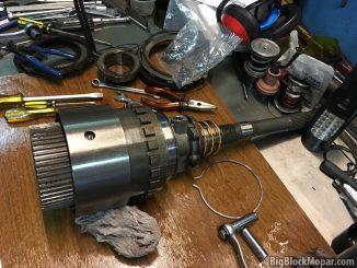 A500/42RH OD rotating assembly