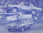 International Auto DareDevils Stuntteam using the 1970 Dodge