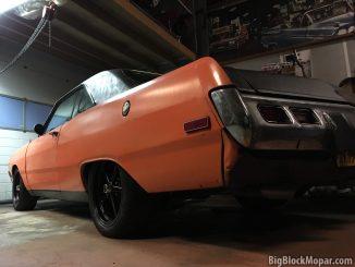 Black Wheels for the 1973 Dodge Dart