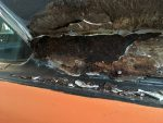 1973 Dodge Dart roof vinyl rust