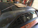 1973 Dodge Dart roof vinyl removal
