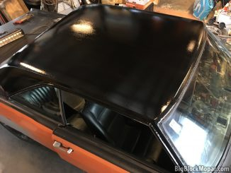 1973 Dodge Dart roof image in Black Paint