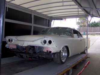 1959 Dodge Coronet - Arrival at the garage.