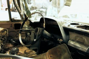 1959 Dodge Coronet - dashboard, or what's left of it...